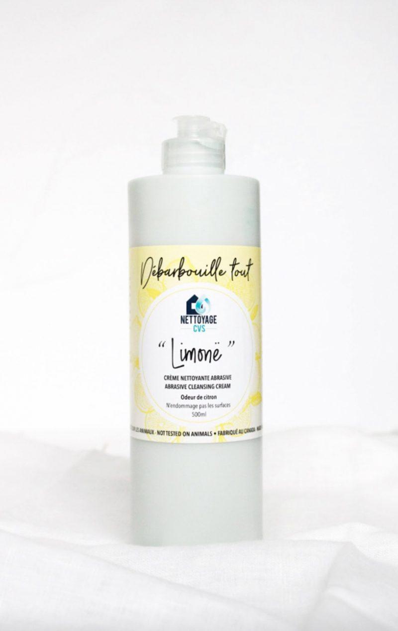 Limonë Nettoyage CVS Crème nettoyante abrasive magique